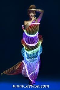 model ykan / light painter david / art director steve so